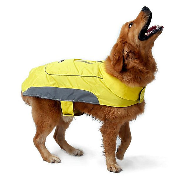 New Dog Jacket for Large Dogs Yellow XS - Little Pit Shop