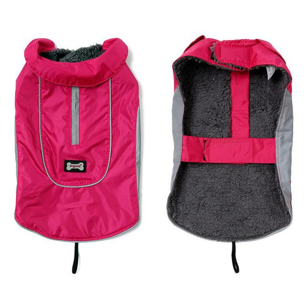 New Dog Jacket for Large Dogs Pink XS - Little Pit Shop