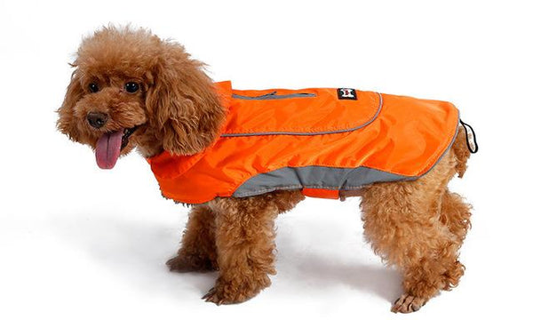 New Dog Jacket for Large Dogs orange XS - Little Pit Shop