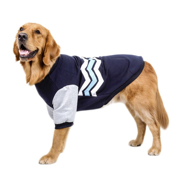 College Preppy Dog Sweater   - Little Pit Shop
