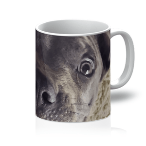 Lil D Crazy Eye Mug, Homeware | Pit Bull T Shirts, Hoodies and more | Little Pit Shop