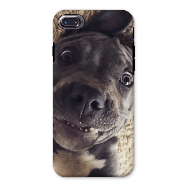Lil D Crazy Eye Phone Case - iPhone and Samsung models iPhone 8 Tough Case - Little Pit Shop