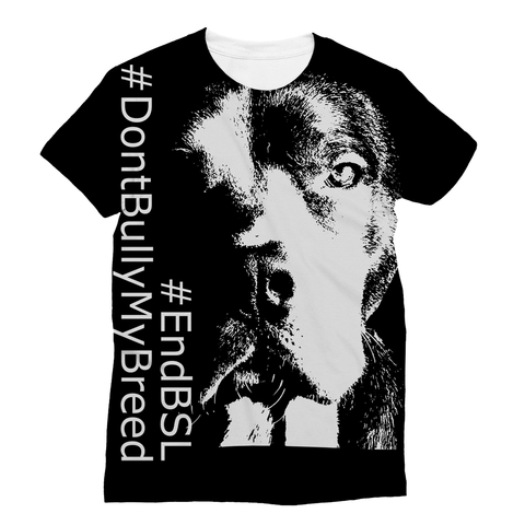 #EndBSL - Sublimation T-Shirt, Apparel | Pit Bull T Shirts, Hoodies and more | Little Pit Shop