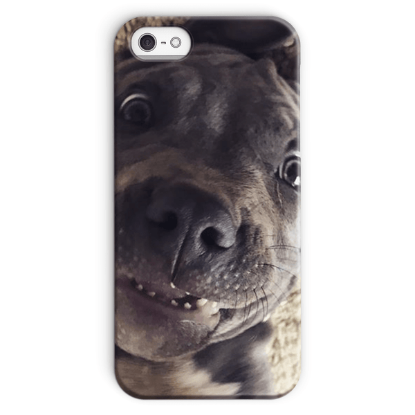 Lil D Crazy Eye Phone Case - iPhone and Samsung models iPhone SE Snap Case - Little Pit Shop