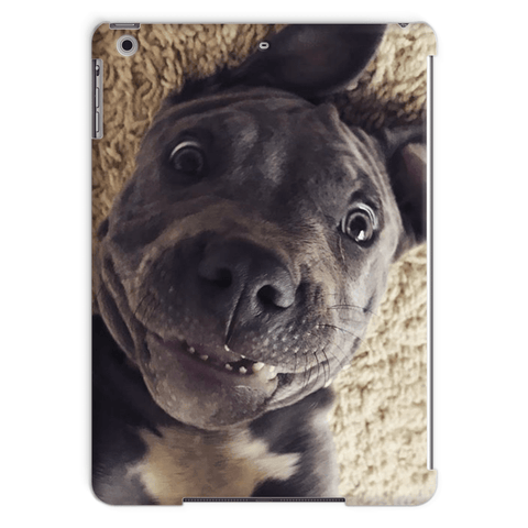 Lil D Crazy Eye iPad Air Tablet Case By Little Pit Shop, Phone & Tablet Cases | Pit Bull T Shirts, Hoodies and more | Little Pit Shop