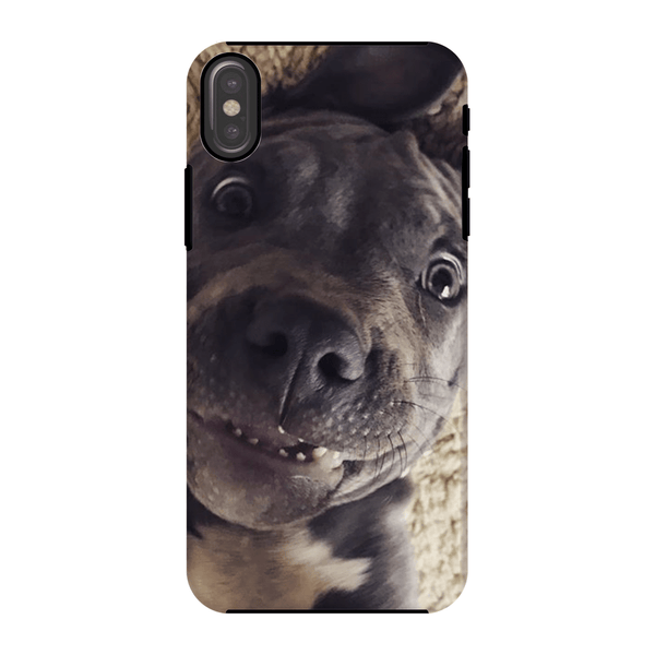 Lil D Crazy Eye Phone Case - iPhone and Samsung models iPhone X Tough Case - Little Pit Shop
