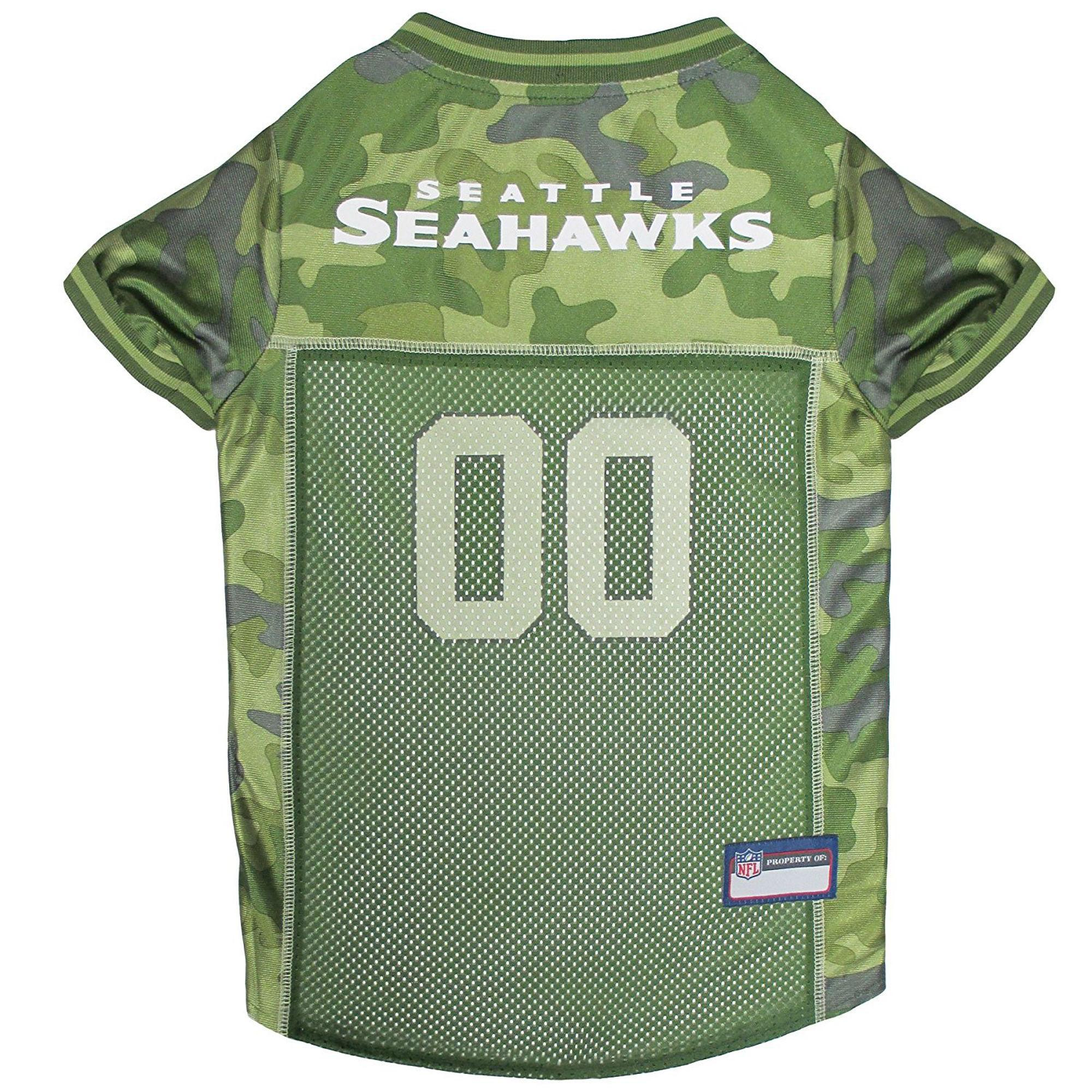Seattle Seahawks Dog Jersey - Camo,  | Pit Bull T Shirts, Hoodies and more | Little Pit Shop