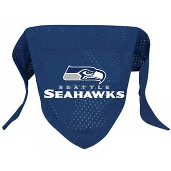 Official Licensed NFL Mesh Dog Bandanas 14 Teams to choose from Seattle Seahawks  - Little Pit Shop