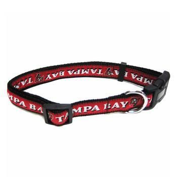 Tampa Bay Buccaneers Officially Licensed Dog Collar,  | Pit Bull T Shirts, Hoodies and more | Little Pit Shop
