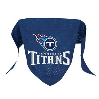 Official Licensed NFL Mesh Dog Bandanas 14 Teams to choose from Tennessee Titans  - Little Pit Shop