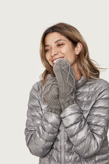 CHUNKY KNITWEAR MITTENS