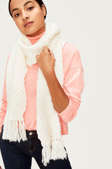 POP CORN KNITWEAR SCARF