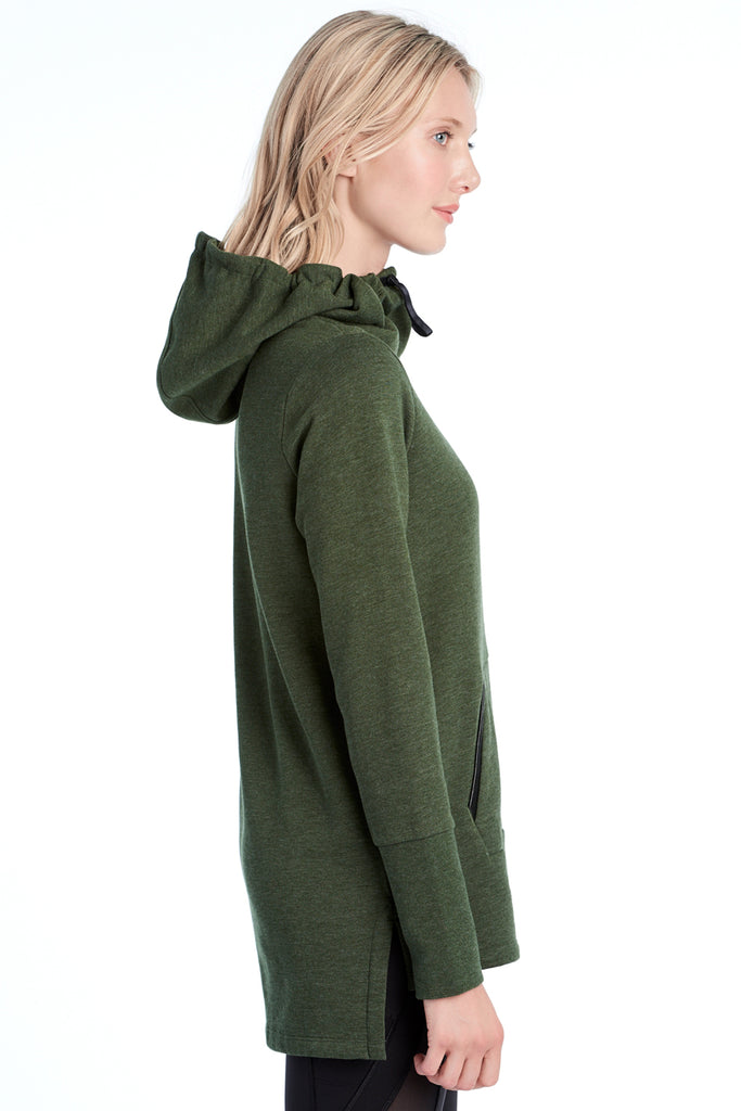 GALI HOODED SWEATER