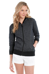 INDIA HOODED CARDIGAN