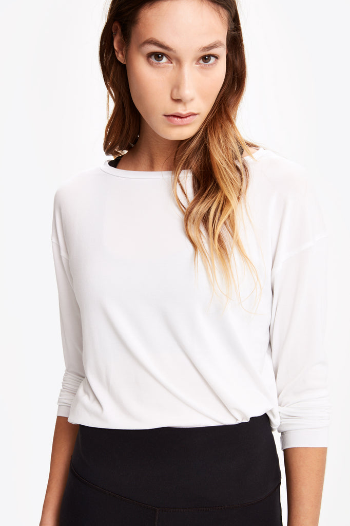 AGDA LONG SLEEVE TOP