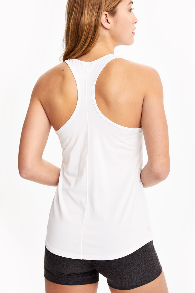 FANCY COOL-TOUCH RACERBACK TOP