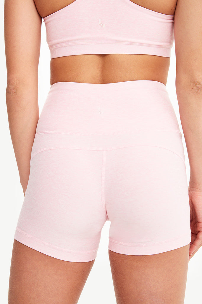 HALF MOON HIGH-WAIST SHORTS
