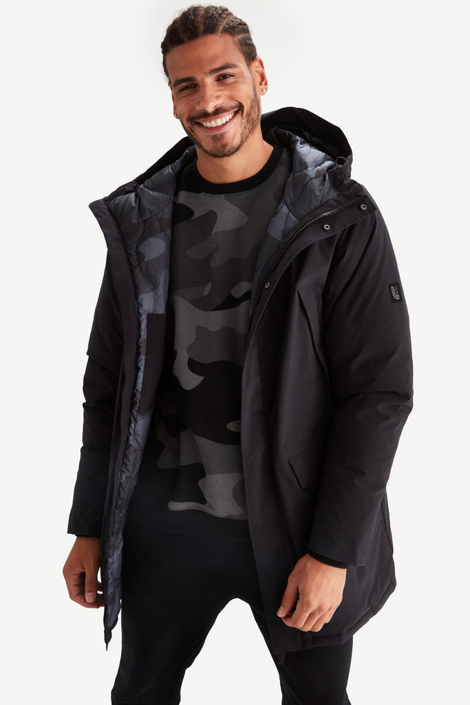 PARKA QUILTED LINNING