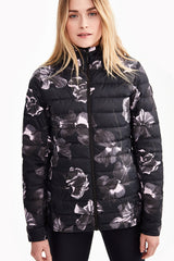 EMELINE AOP PACKABLE JACKET