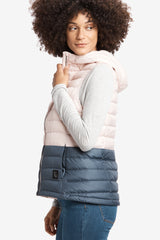 ROSE COLORBLOCK VEST