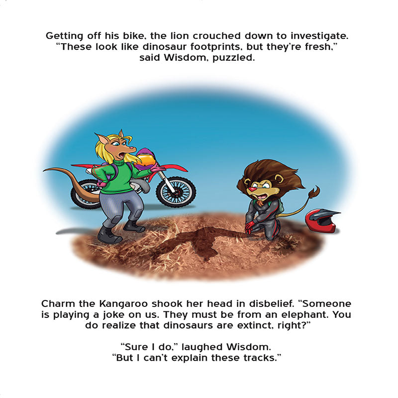 Children's Book: The X-tails Dirt Bike at Badlands - ShopTheMakers.com