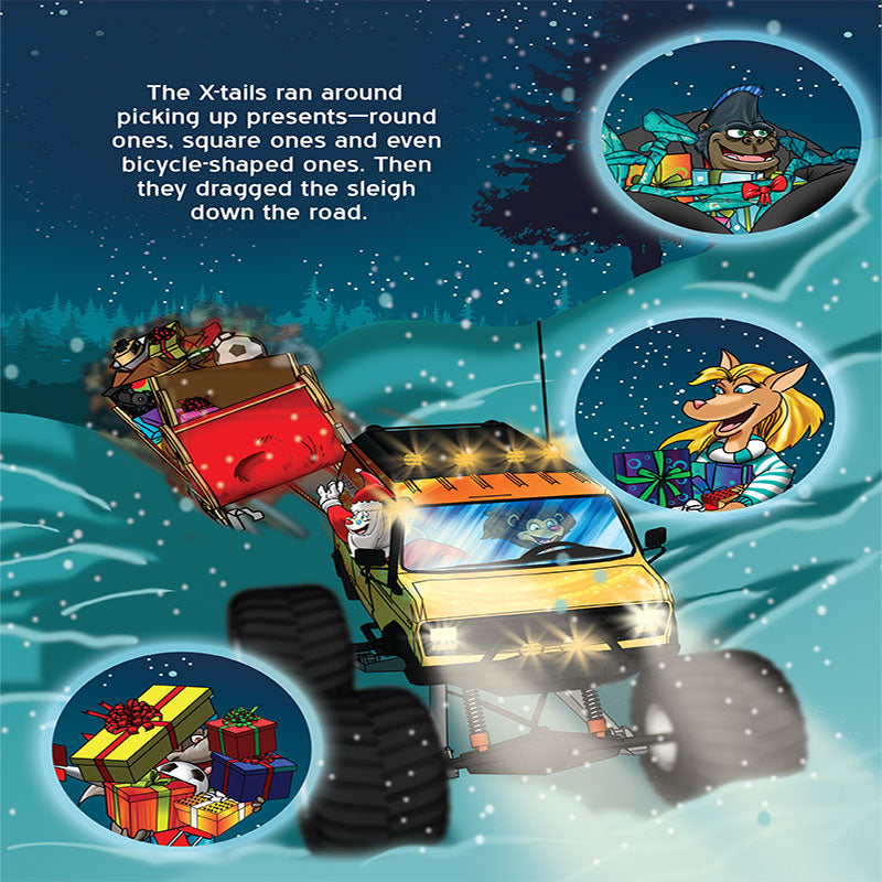 Children\'s Book: The X-tails in a Merry Monster Trucking Christmas ...