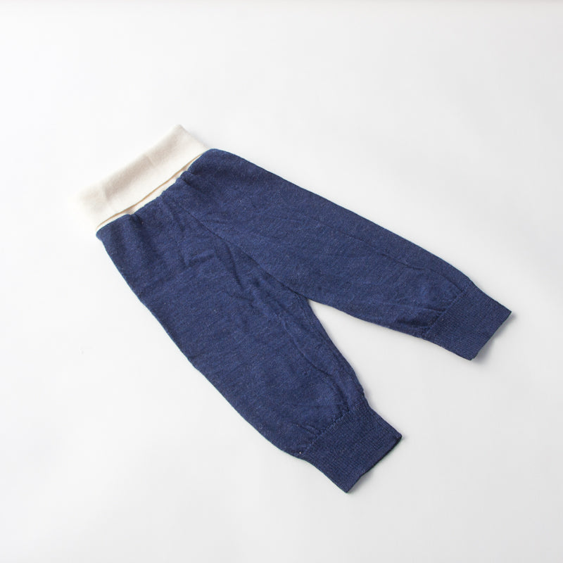 Wool Pants - Blue and White - The Makers