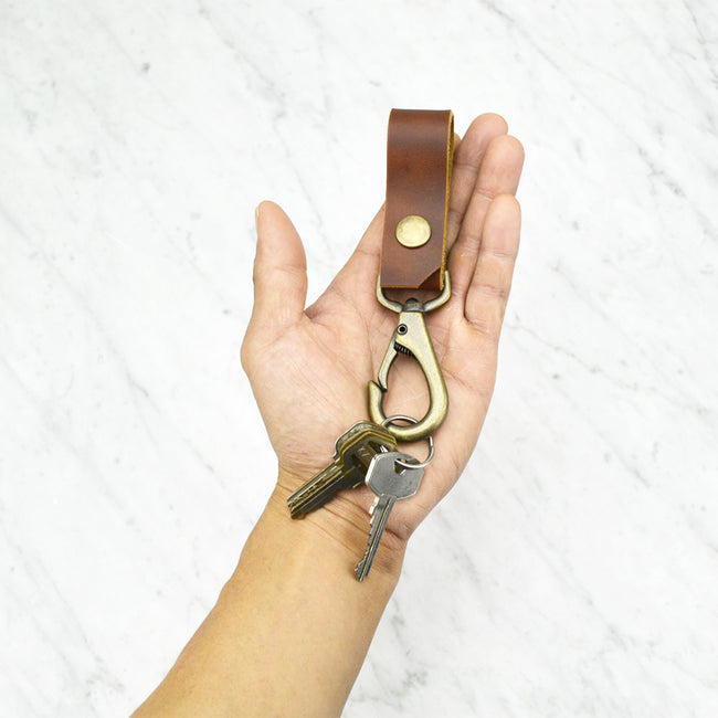 Lanyard / Keychain / Key Ring / Key Fob /Leather key holder - ShopTheMakers.com