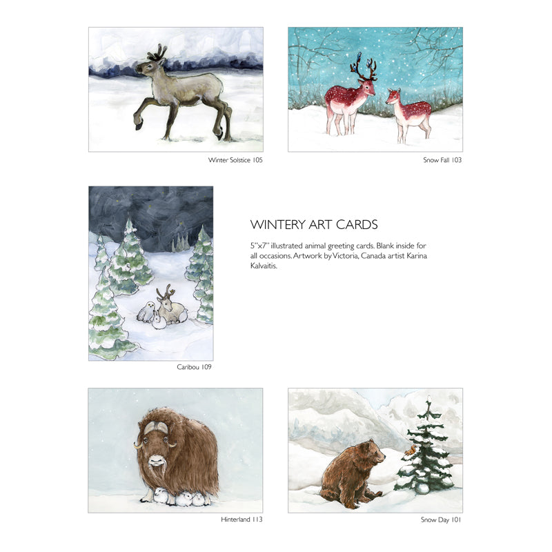 Stock Up! Set of 20 bulk greeting cards - Mix and Match animal gift cards - Quantity discount all occasion card set - Birthday & Christmas card bundle - The Makers