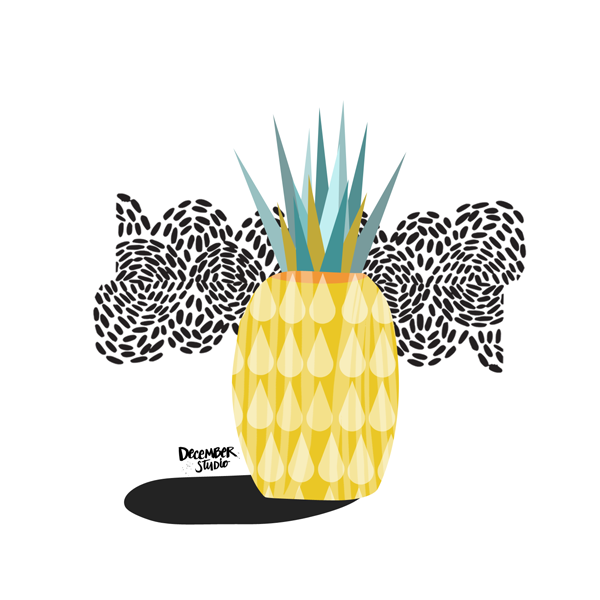 SCANDI PINEAPPLE - The Makers