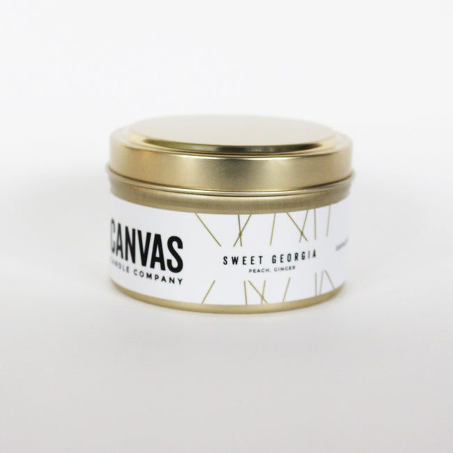 6oz 100% Soy Candle - Sweet Georgia - ShopTheMakers.com