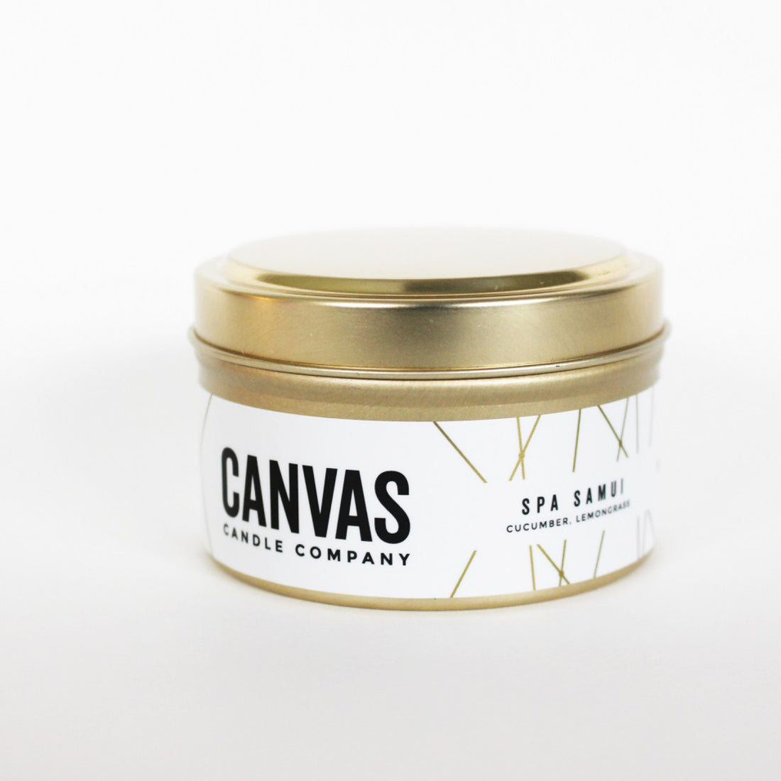 6oz 100% Soy Candle - Spa Samui - ShopTheMakers.com