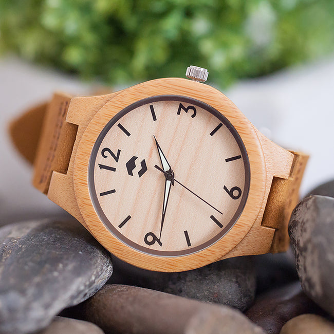 CLASSIC MMNT // Bamboo Wooden Watch - ShopTheMakers.com