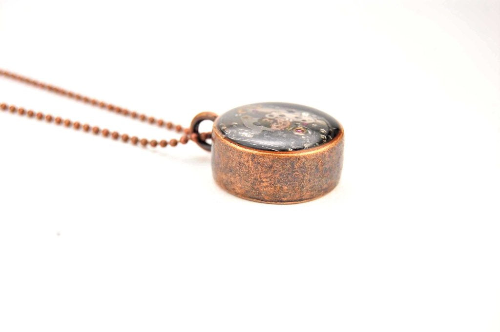 Double Sided Mechanism Necklace - ShopTheMakers.com