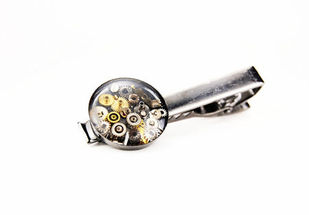 Steampunk Tie Clip - The Makers