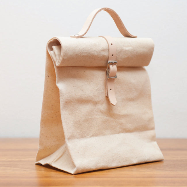 Waxed Canvas Lunch Bag - The Makers