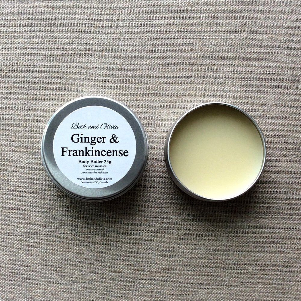 Ginger and Frankincense Body Butter - ShopTheMakers.com