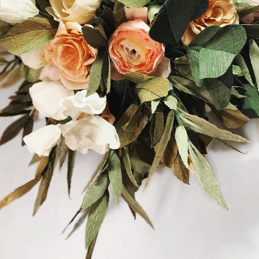 Large Crepe Paper Flower Bouquet - CUSTOM MADE - ShopTheMakers.com