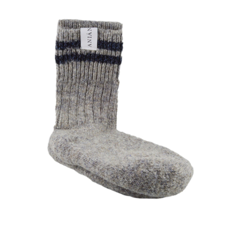 CHICA SOCKS - 70% Pure New Wool. All Handmade. Double Knit Sole - ShopTheMakers.com
