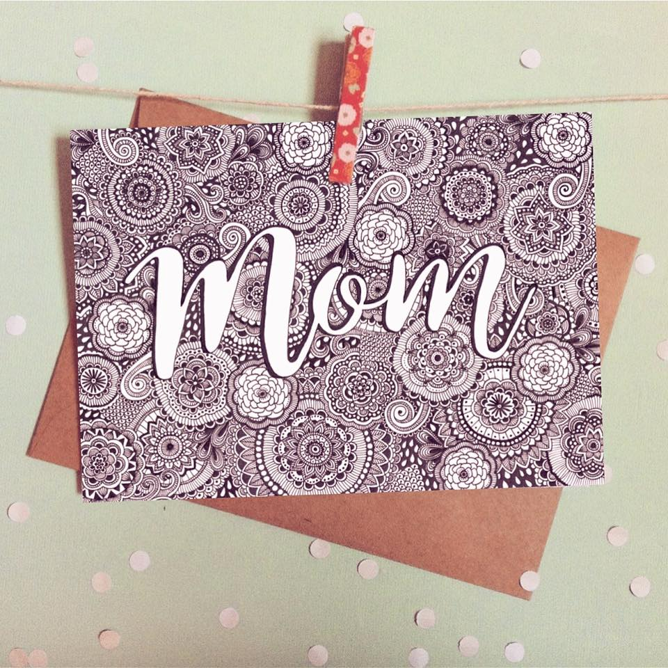 Mom Greeting Card - The Makers