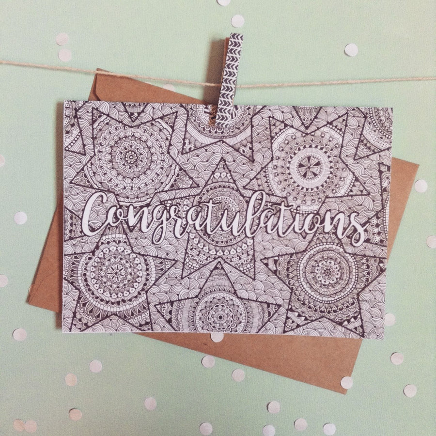 Congratulations Greeting Card - ShopTheMakers.com