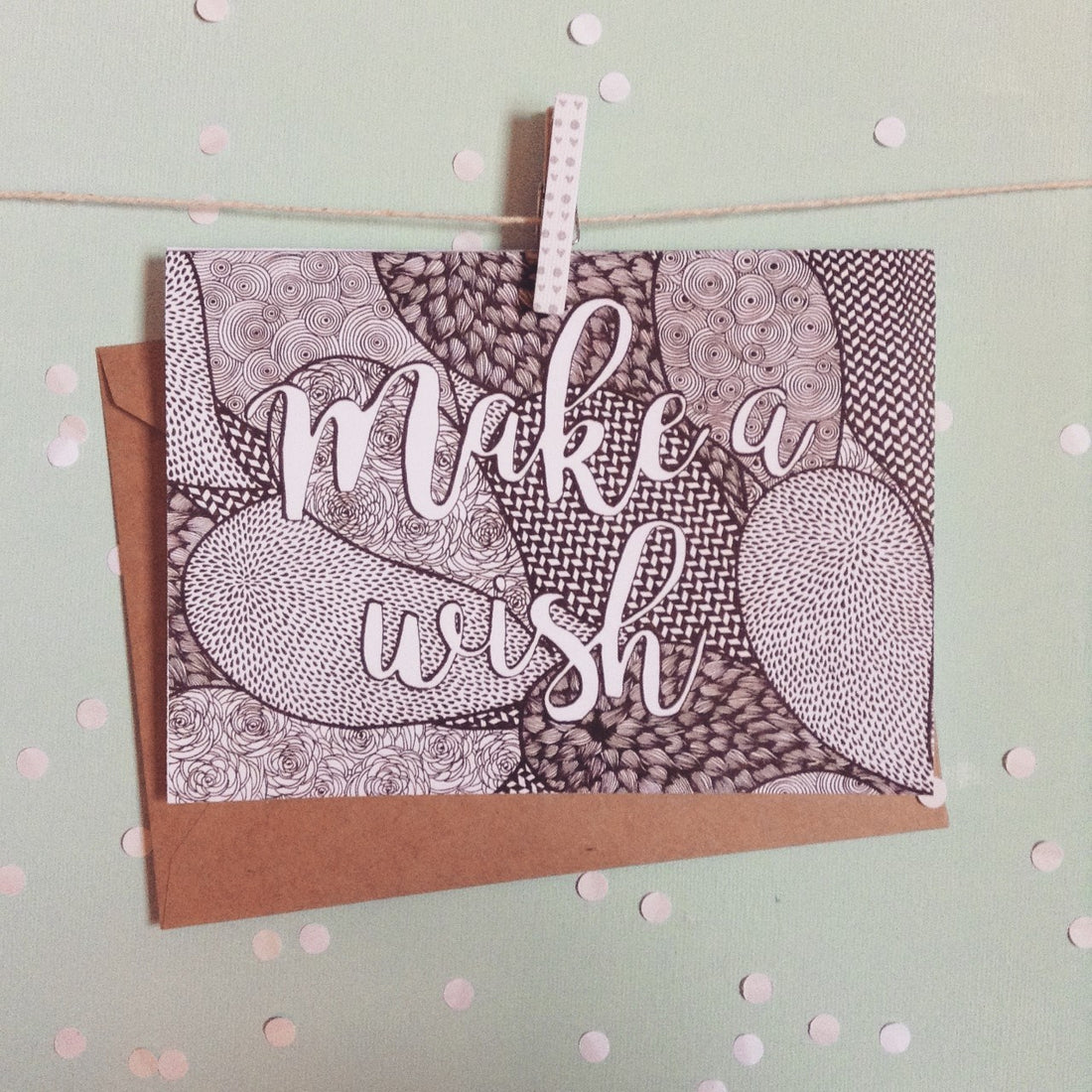 Make A Wish Greeting Card - The Makers