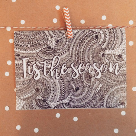 Tis The Season Greeting Card - The Makers