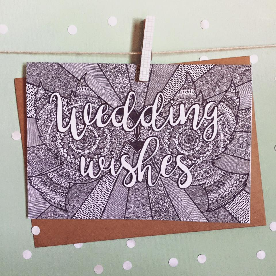 Wedding Wishes Greeting Card - The Makers