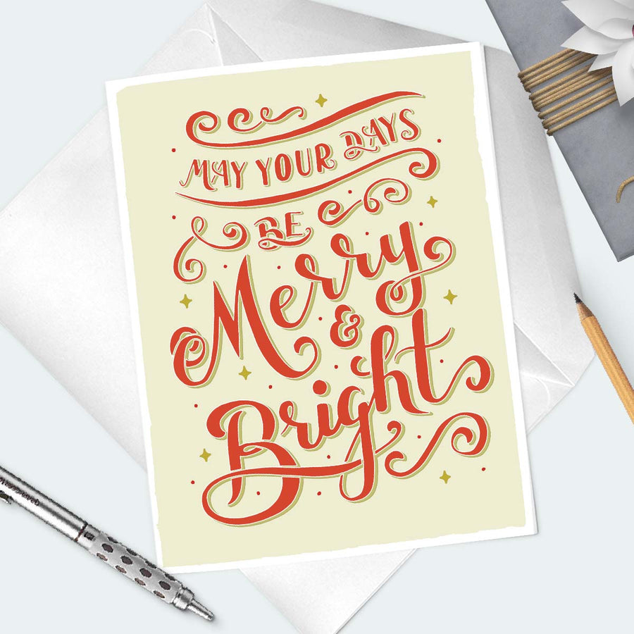 Festive Holiday Greeting Card - ShopTheMakers.com
