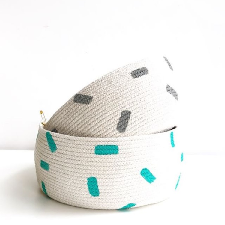 Cotton Rope Fruit Bowl - ShopTheMakers.com