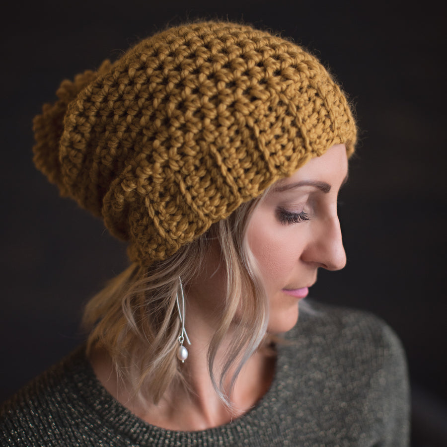 Jane Slouch Hat - ShopTheMakers.com