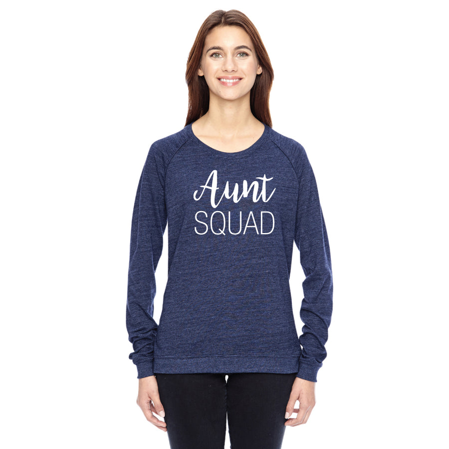 Aunt Squad Ladies' Eco Jersey Triblend T-Shirt - ShopTheMakers.com