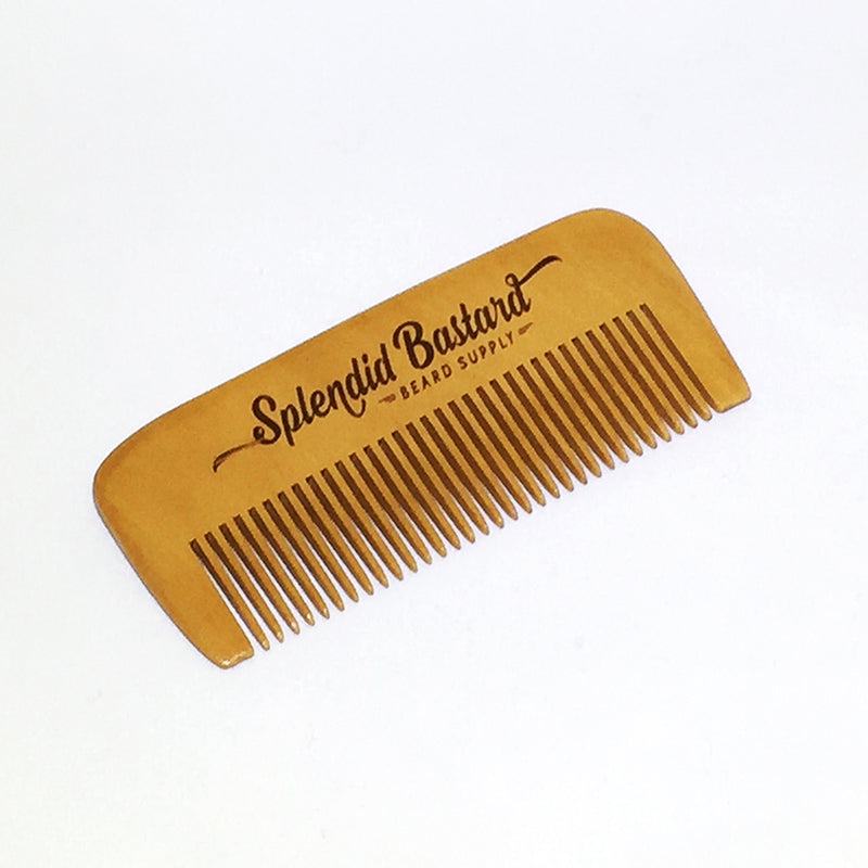 Wooden Beard Comb - The Makers
