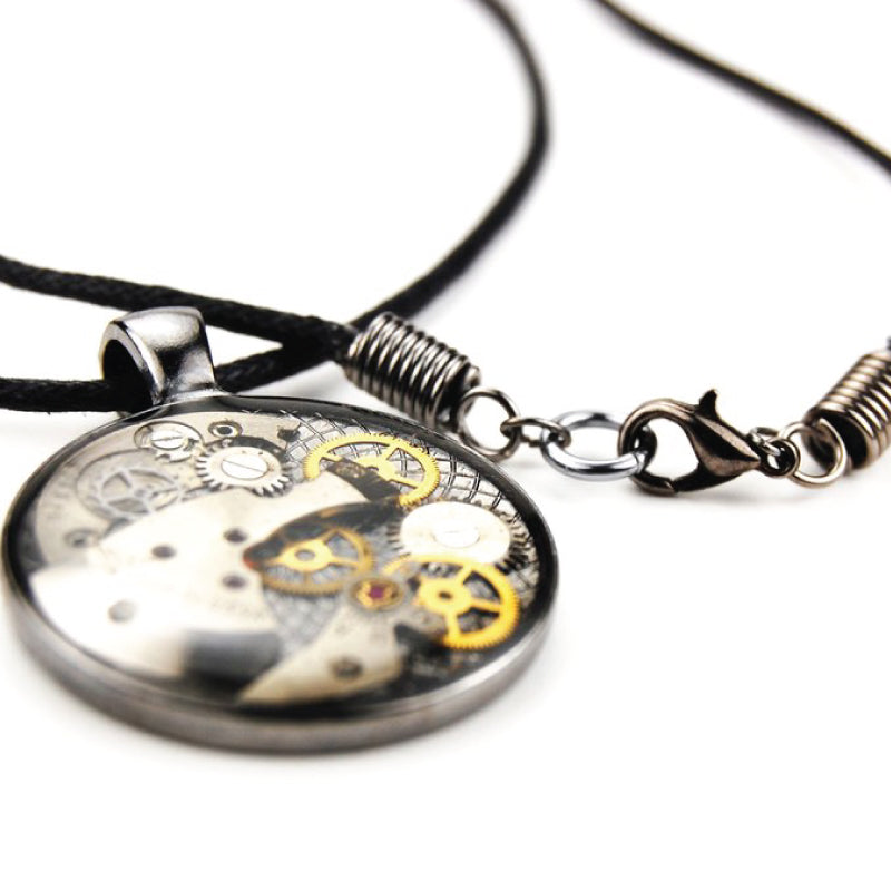 Mechanical Watch Gear Necklace - The Makers